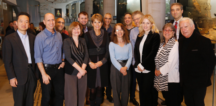 The Promise of Biomed: Symposium on Joint Projects Jan 19, 2020, group photo symposium speakers