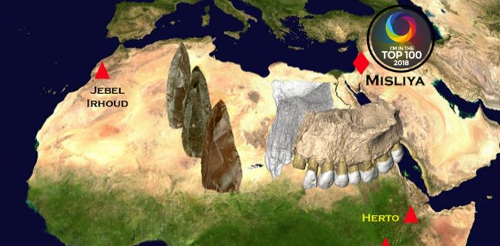 The earliest modern humans outside of Africa