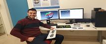 TAU PhD student completes training at Monash University
