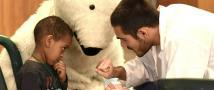 Teddy Bear Hospital eases children's anxiety