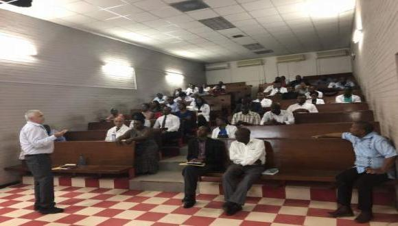 TAU-SPH Teaching in Zambia