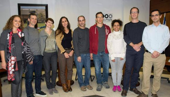 Photo of ERC grantees by: Israel Hadari