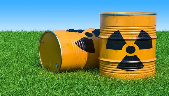 Radioactive waste is defined as material that contains or it is contaminated with radionuclides at concentrations or activities greater than clearance levels