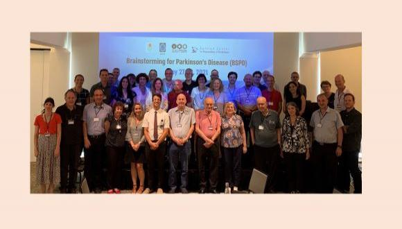 Brainstorming for Parkinson's Disease (BSPD) group photo