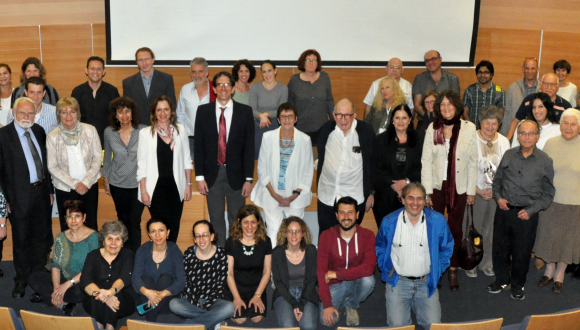 group photo of 26 April event